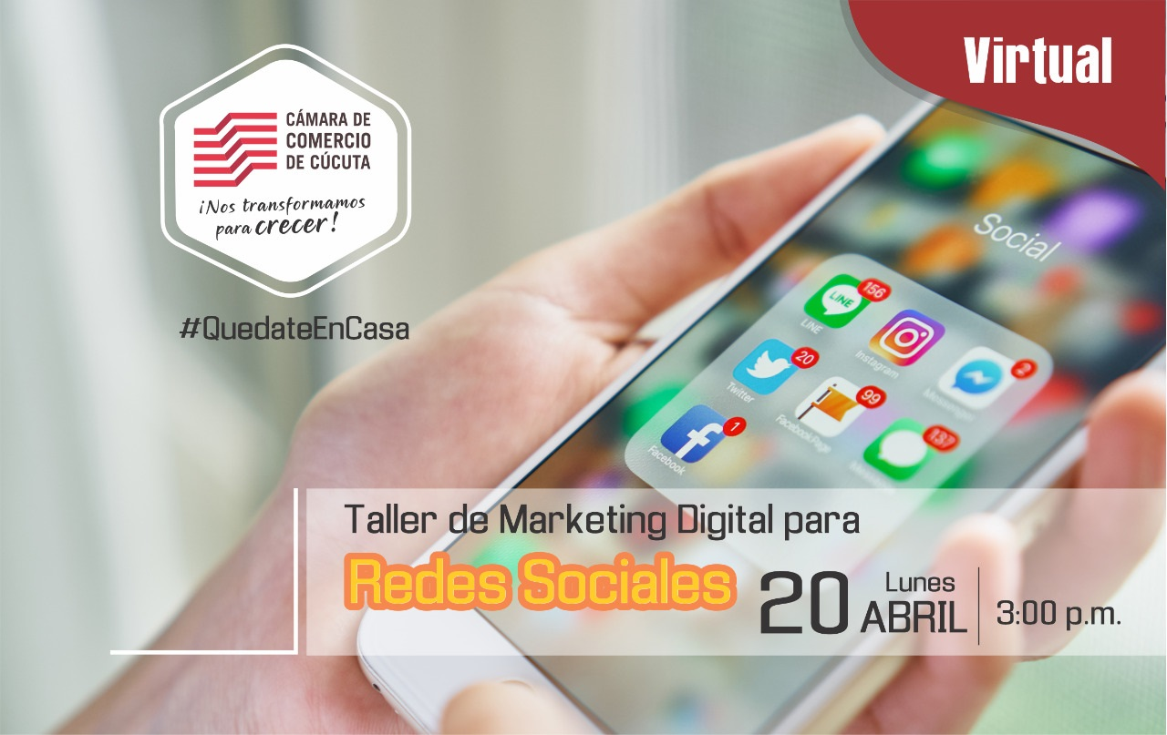 Segunda Sesión Taller de Marketing Digital para Redes Sociales